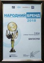 Народный бренд 2018